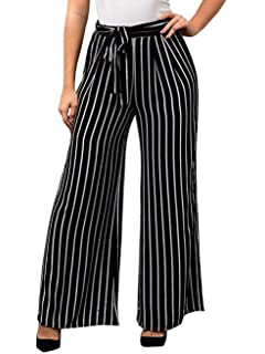 Qualified Fashion Womens Cut Split Side Buttons Wide Leg Long Jogger Pants Casual Trousers Hot Bottoms Pants & Capris