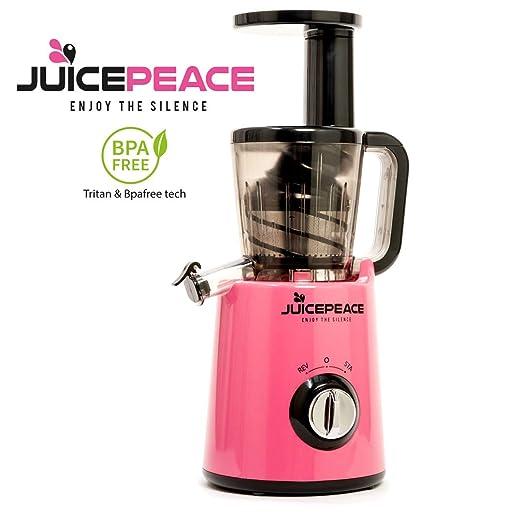 Juicepeace Siquri - Extractor de zumo en frío silencioso, compacto ...