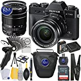 Fuji XT20 Body with XF18-55mm Lens Kit - Black + 32GB Memory + Basic Photo Accessory Bundle