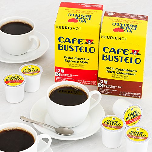 Café Bustelo Espresso Style K-Cup Pods for Keurig K-Cup Brewers 6 boxes of 12 (72 total) by Cafe Bustelo (Image #3)