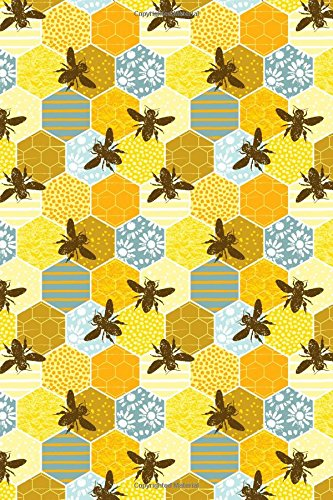 Journal Notebook Honey Bees Pattern 1: 110 Page Plain Blank Journal For Drawing, Writing, Doodling In Portable 6 x 9 Size. (Noteworthy Series Unlined) (Volume 35) pdf epub