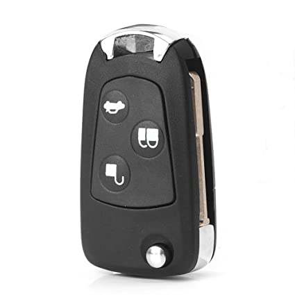 Amazon Com Gzyf  Buttons Keyless Entry Remote Control Key Fob Replacement Key Case Shell For Ford Mondeo Fiesta Focus Mondeo Puma Fiesta Ka