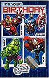 Marvel Avengers Assemble C'est votre carte d'anniversaire