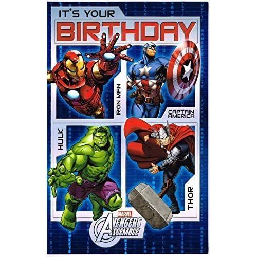 High Quality Marvel Avengers Assemble C Est Votre Carte D Anniversaire Www Freshbrewcoffee Com