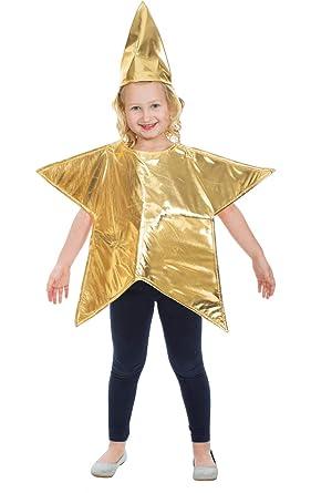 Vestito Da Stella Per Recita Di Natale.Costume Stella Bambino