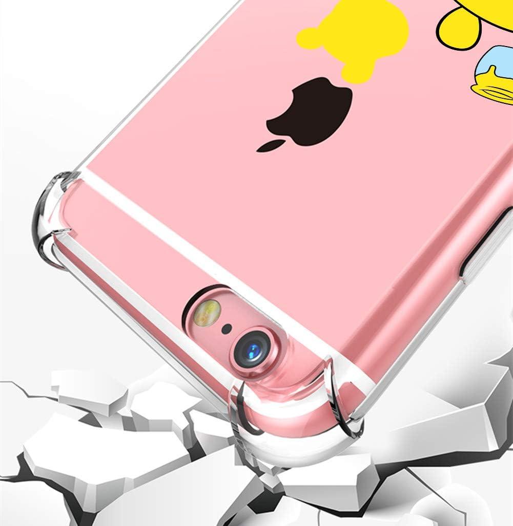 Casos para iPhone iPod Touch 567 Darnew Love Stitch Funda para iPod Touch 567 Dibujos Animados Lindo Moda Suave de TPU Dise/ño de Gracioso Divertido Frio para Ni/ños y Ni/ñas Mujer