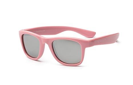 koolsun bebés y niños gafas de sol Wave Fashion 1 + | Rosa Sachet VERS piegelt