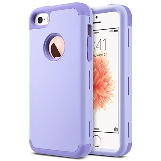 ULAK Cover per iPhone 5S iPhone SE Custodia Ibrida a Protezione