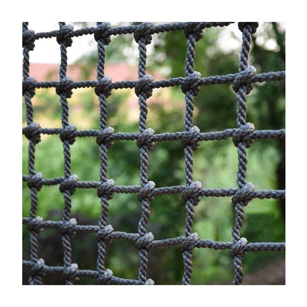 落下防止ネット建物の安全ネットトレーニング開発保護ネット階段バルコニー保護ネットホームフェンスアンチキャットネット幼稚園クライミングロープネット(18mm / 20cm) (Color : 18mm/20cm, Size : 1*1m/3.3*3.3ft) 18mm/20cm 1*1m/3.3*3.3ft