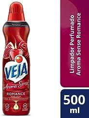 Limpador Veja Aroma Sense Romance, 500ml