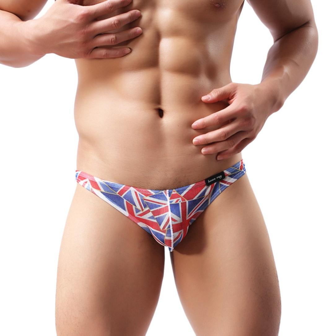 12b28442dbb Mens Bikini Underwear HP95(TM) Men Sexy Triangle Breathable Underpants at  Amazon Men's Clothing store: