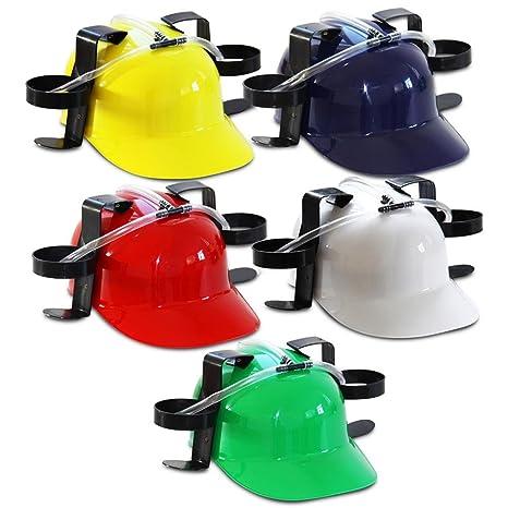 prezzo più basso con godere del prezzo più basso scarpe eleganti Divertente casco borraccia birra con cannuccia + supporto ...