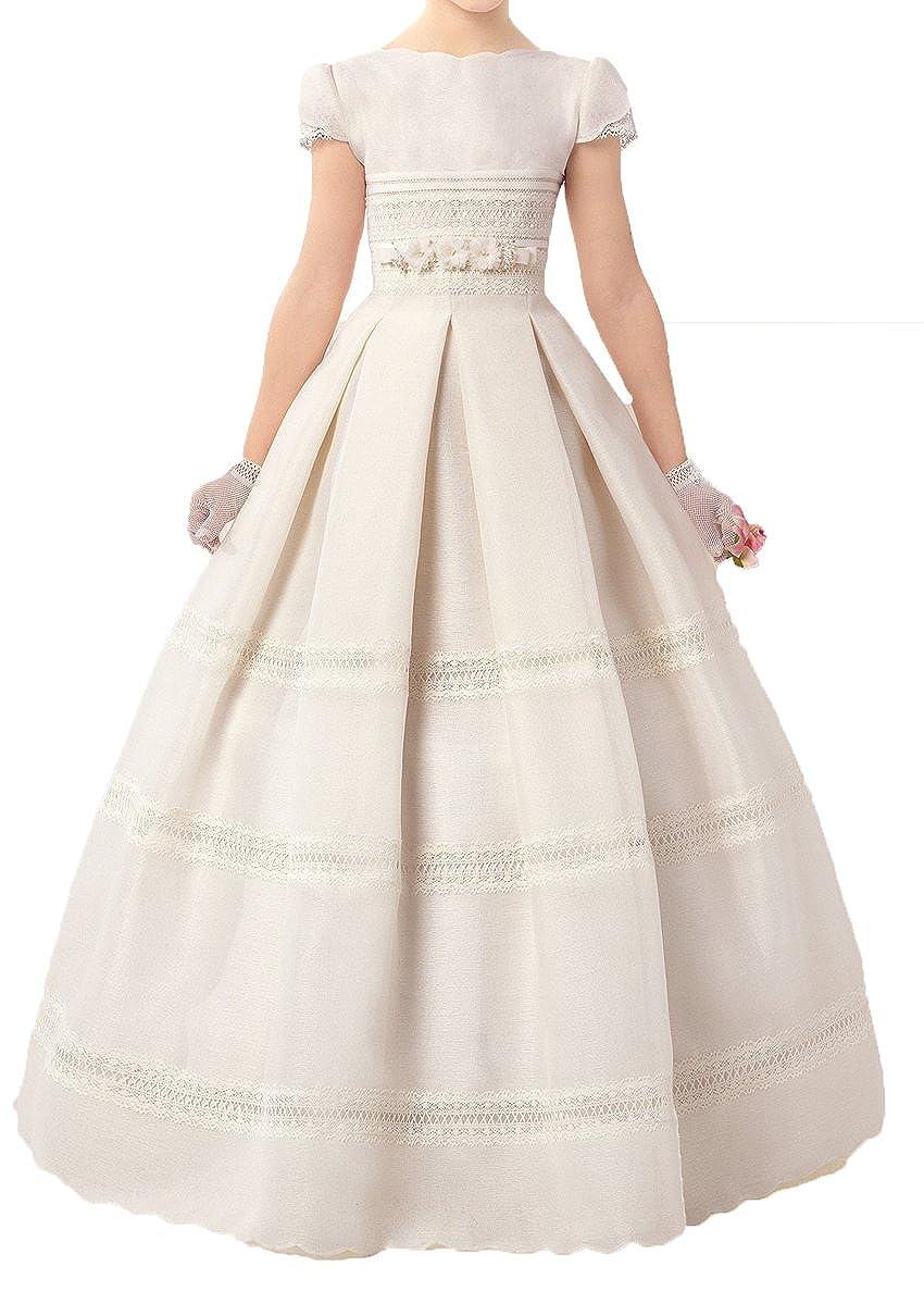 Amazon.com: Ethel Niñas primera Comunión vestido Vestido de ...