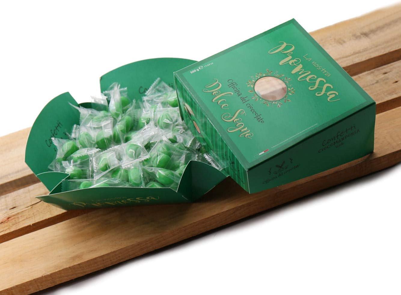 Favorito Confetti Incartati Verde per Promessa di Matrimonio 500g Dolce CD18