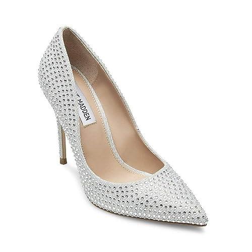 7bd2c1e7deb2 Steve Madden Women s Daisie-r Pump  Amazon.co.uk  Shoes   Bags