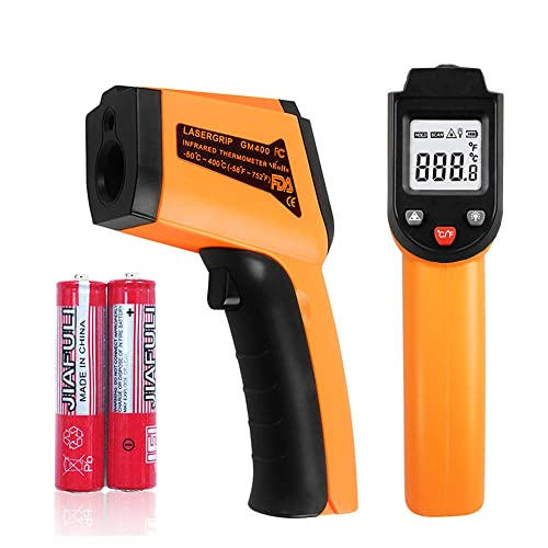 Snoblass Infrared Laser Thermometer Gun, -58 – 750 -50 – 400 Non-Contact Digital Temperature Gun with HD LCD Display