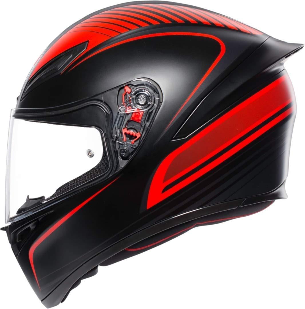 agv K1 Warm Up Rouge Casque De Moto Integral Taille XL