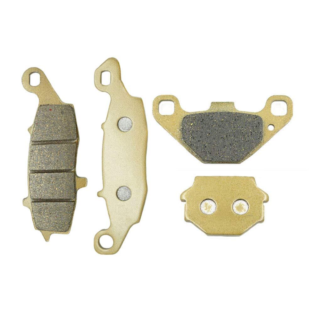Gold Hose /& Stainless Gold Banjos Pro Braking PBK4147-GLD-GOL Front//Rear Braided Brake Line