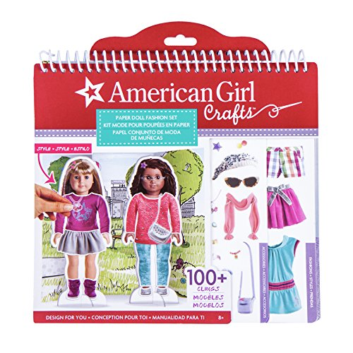 American Girl Paper Doll Fashion Stylist Set Only $10.93