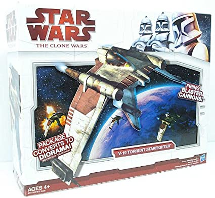 Star Wars The Clone Wars V 19 Torrent Starfighter Toys Games