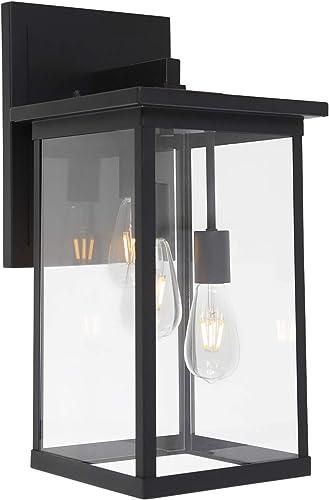 TODOLUZ 3-Lights Indoor Wall Lantern Outdoor Lighting Fixtures Wall Mount