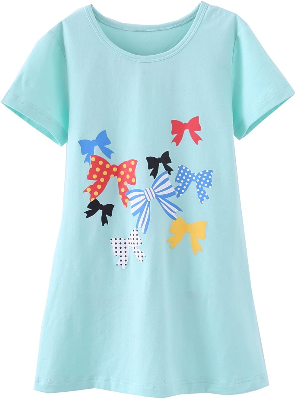 ABClothing Grils Cotton Dress /& Soft Nightgown Vary Colors 2-10 Years Old