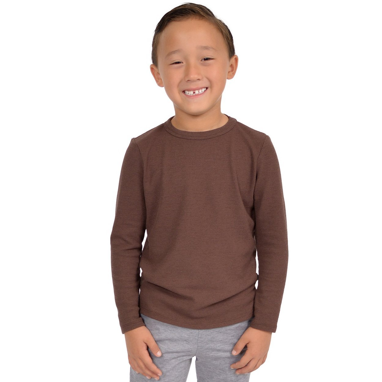 Stretch is Comfort Boy's Thermal Long Sleeve Shirt BOYSAW1701-$P