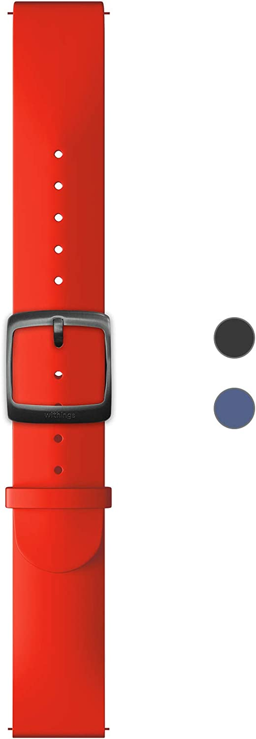 Withings Silicone Wristbands for Steel HR Steel HR Sport Move ECG and Move