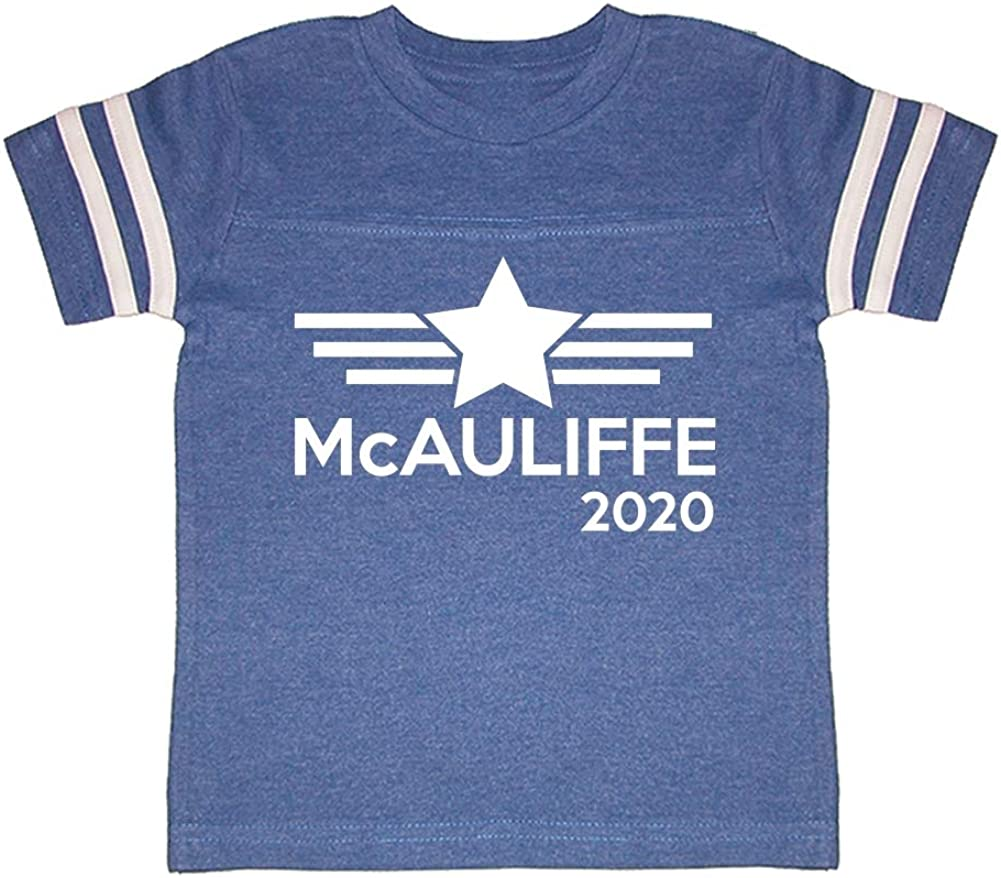Mashed Clothing McAuliffe 2020 Presidential Election 2020 Toddler//Kids Sporty T-Shirt