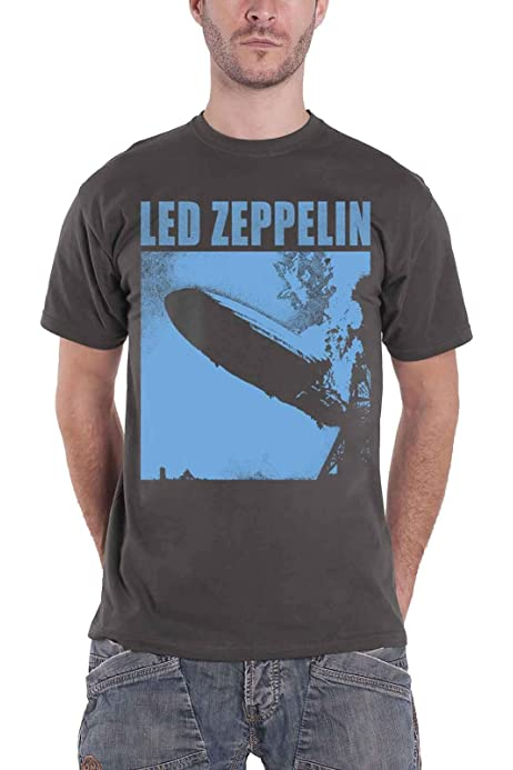 T-Shirt NEW /& OFFICIAL! Grey Led Zeppelin /'I Blue Cover/'