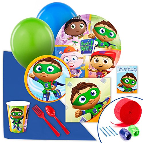 Super Why Party Supplies - Value Party Pack
