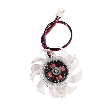 TOOGOO(R)35mm Ventilador de refrigeracion de tarjeta grafica ...