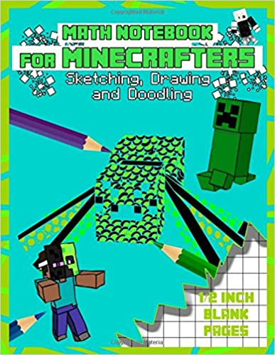 2ff6aba30ea1 Amazon.com: Math Notebook For Minecrafters: Sketching, Drawing and ...