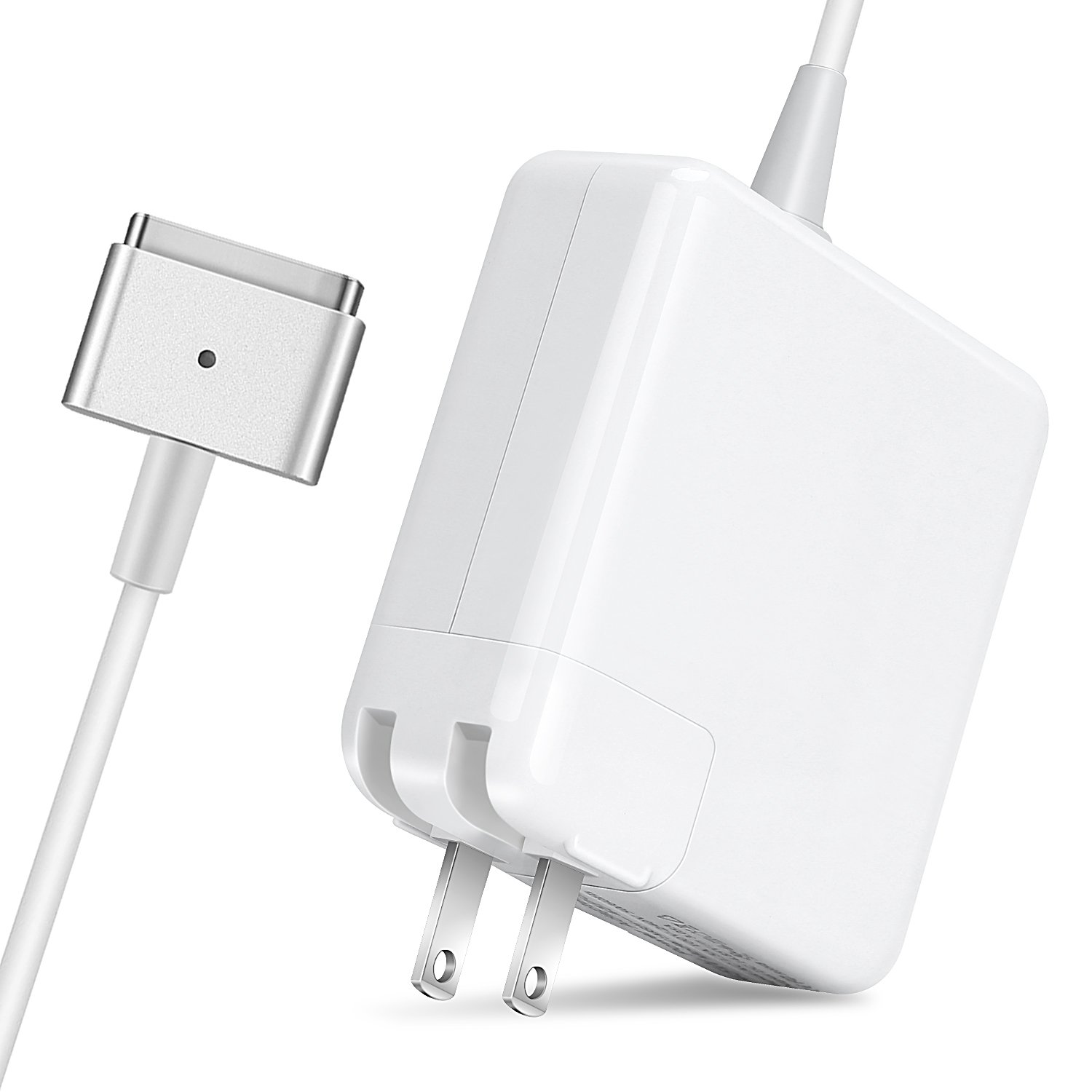 Macbook Air Charger, Ac 45w Magsafe 2 (T-Tip) Connector Power Adapter Charger for MacBook Air 11-inch and 13 inch (For Macbook Air Released after Mid 2012)