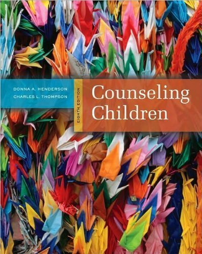 Donna A. Henderson,Charles L. Thompson'sCounseling Children [Hardcover](2010)