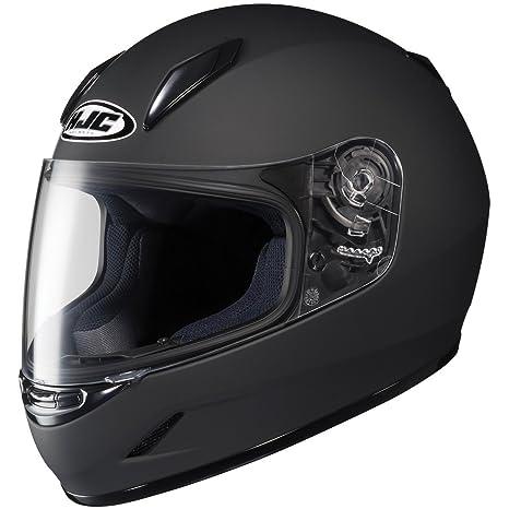 HJC Solid Youth - Casco de moto CL-Y, color negro mate