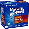 MAXWELL HOUSE Smooth Bold, K-CUP Pods Coffee, 18 Count