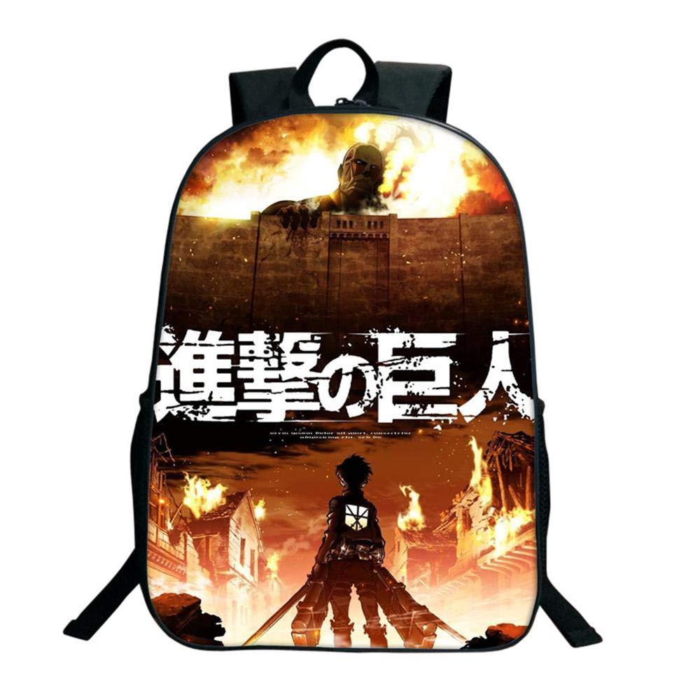Attack On Titan Anime School Backpack Casual School Bag Bag Bag Daypack Stampato per Bambini style10 | Per Essere Altamente Lodato E Apprezzato Dal Pubblico Dei Consumatori  | Bella E Affascinante  | Queensland  | Aspetto estetico  | A Basso Costo  | Buona r d71d60
