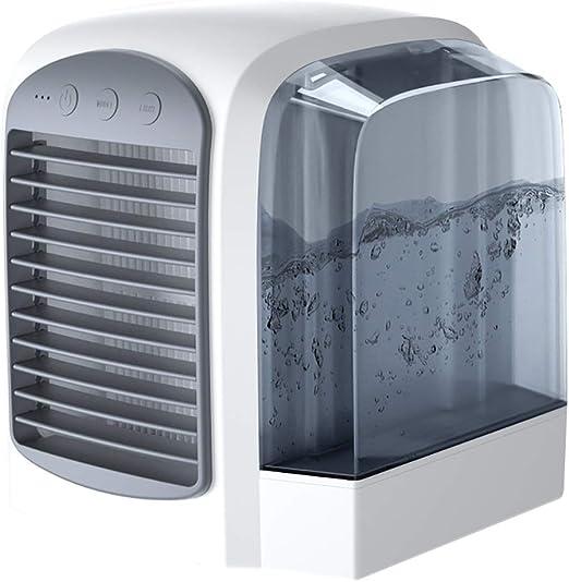Ventilador electrico Ventilador sin hojas portátil, ventilador de ...