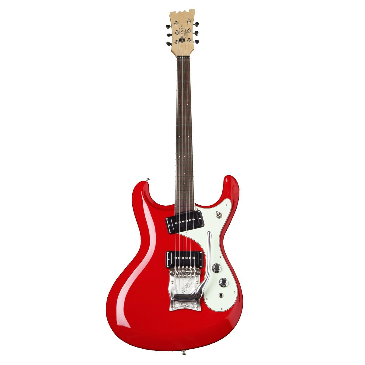 mosrite Super Excellent Red (モズライト スーパー エクセレント) (レッド) B074W4CXYJ レッド レッド