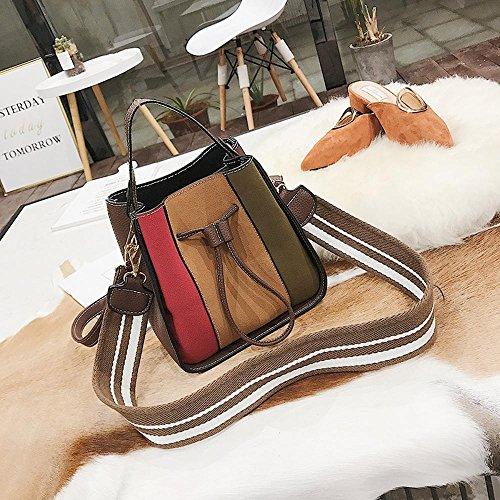 d'épaule la dessiner pour sac sac marée la Aoligei cross unique mode couleur oblique Bosse portable gros corde la à femme C sac 0qIHwt5