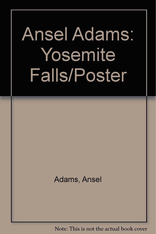 ansel adams yosemite falls poster