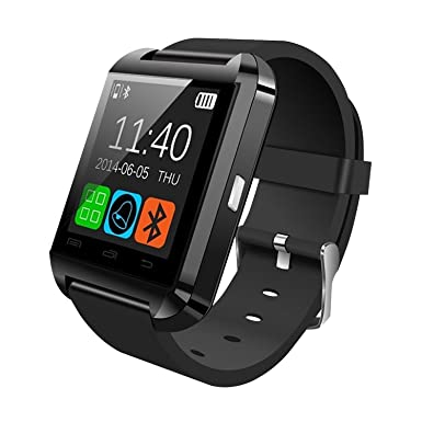 In Tech Smart Wrist Watch Compatible With Android Amazon Co Uk
