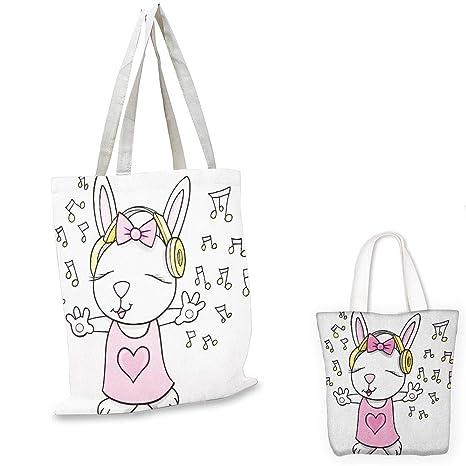 Bolsa de tela para profesor con diseño de animales de ...