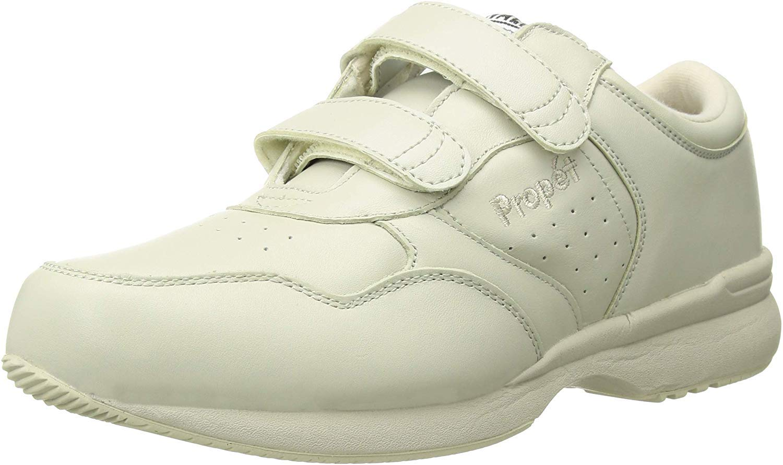 Propet Women's Life Walker Strap Sneaker,Sport White,14 XX (US Men's 14 EEEEE) by Propét