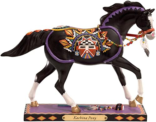Enesco Trail of Painted Ponies Kachina Pony Figurine 6-Inch