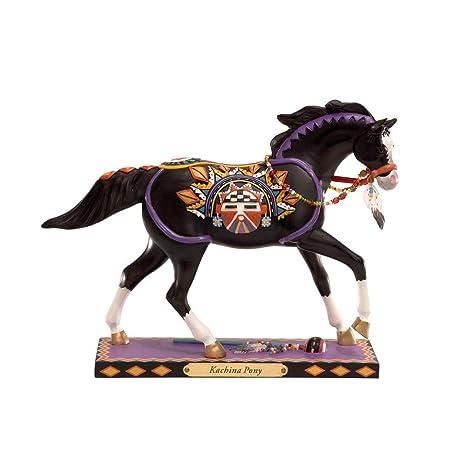 Enesco Trail of Painted Ponies Kachina Pony Figurine 6-Inch