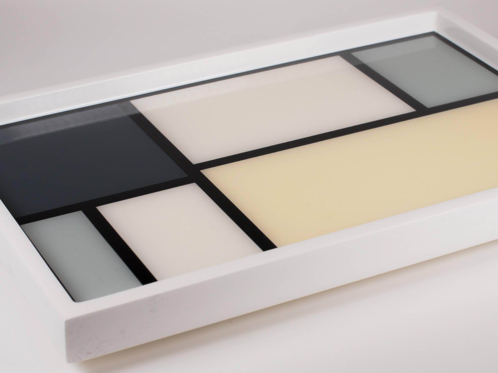 Mondrian Small Tray – Neutral colors