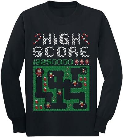 Retro Video Game Konsole Ugly Christmas Sweater Gaming Gamer Langarmshirt