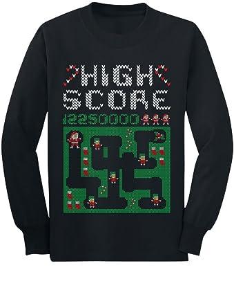 Amazoncom Santa Video Game Ugly Christmas Sweater Style Youth Kids